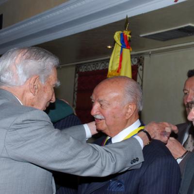 Imposición Medalla al Mérito Categoría Gran Cruz al señor Brigadier General Jaime Rodríguez Rodríguez (QEDP)