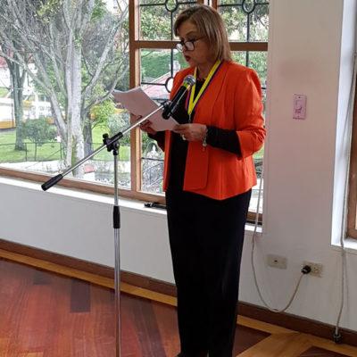 Palabras de la Senadora Thania Vega de Plazas