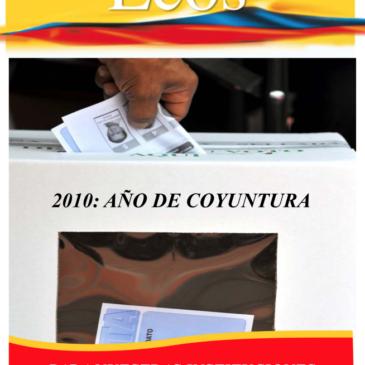 2010: Año de Coyuntura para Nuestras Instituciones
