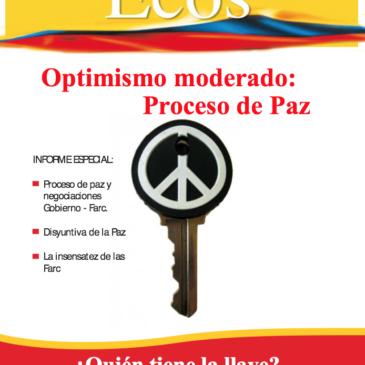 Optimismo Moderado: Proceso de Paz