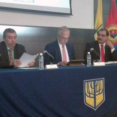 Intervención del Dr. Marcelo Elissalde (Chile) y Dr. Oscar Platero (Guatemala)
