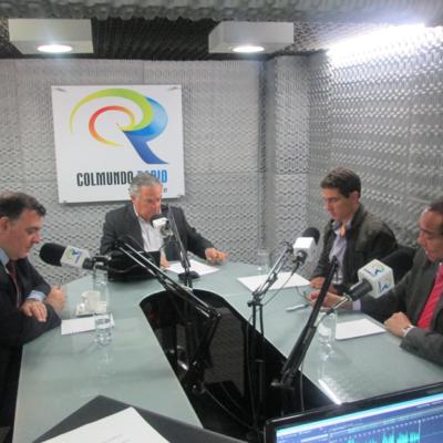 Entrevista al Presidente del CGA (2013-2015) el señor Almirante David René Moreno Moreno