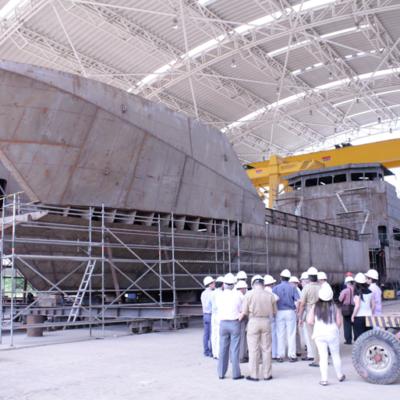 Visita instalaciones COTECMAR 2014
