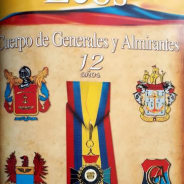 Cuerpo de Generales y Almirantes 12 Años