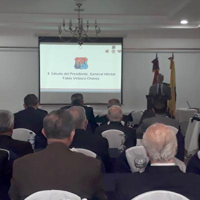 2.       Presidente del CGA, Señor General Héctor Fabio Velasco Chávez.