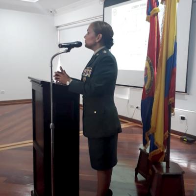 3.       Información Hospital Militar a cargo de la Brigadier General Clara Esperanza Galvis Díaz, Directora Hospital Militar.