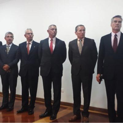 Nueva Junta Directiva en cabeza del Señor Vicealmirante Luis Alberto Ordóñez Rubio