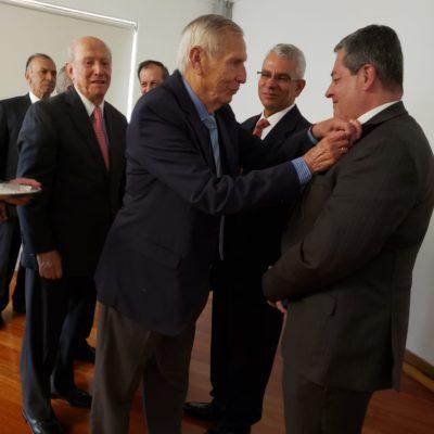 Imposición Escudo del CGA nuevos socios.