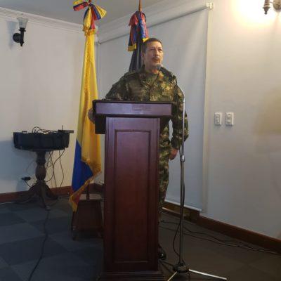 Saludo del Comandante del Ejército Nacional, Mayor General Nicacio de Jesús Martínez Espinel