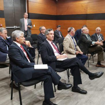Conversatorio con el nuevo Director de la Justicia Penal Militar