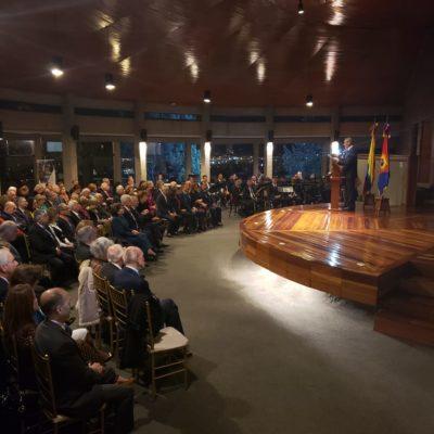 Ceremonia de Conmemoración de Las Bodas De Plata del Cuerpo Generales Y Almirantes en Retiro de las FF.MM
