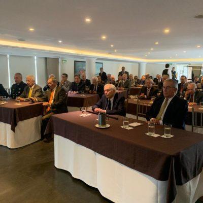 Conferencia sobre la situación actual del país y el alistamiento de la Armada Nacional para el cumplimiento de la misión.