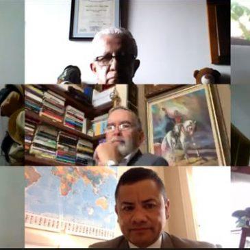 Conversatorio virtual: Avances en la Alta Consejería de Seguridad Nacional