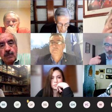 Conversatorio virtual «La estrategia de la revolución molecular disipada»