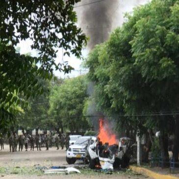 Rechazo al acto terrorista en contra de soldados de la brigada 30 del Ejército